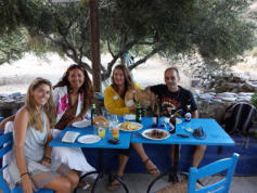 Taverna Anemos at Agios Minas beach